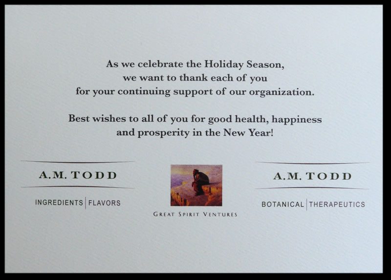 Christmas Card Corporate Messages | Holliday Decorations