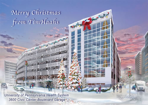Tim Haahs Multi Purpose Parking Structure Atlantic City New Jersey